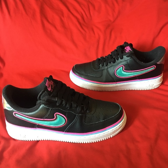 air force 1 limited edition rosse nere